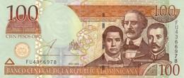 DOMINICAN REPUBLIC 100 PESOS ORO 2003 P-171c AU/UNC [DO699b] - Dominicana