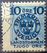 SUEDE             N° 92             OBLITERE - Zweden