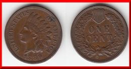 QUALITY **** USA - ETATS-UNIS - UNITED STATES - ONE CENT 1889 - 1 CENT 1889 INDIAN HEAD **** EN ACHAT IMMEDIAT !!! - Emissioni Federali