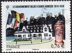 France Oblitération Cachet à Date N° 4933 - Le Gouvernement à SAINTE-ADRESSE - Used Stamps