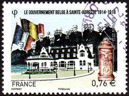 Oblitération Cachet à Date Sur Timbre De France N° 4933 - Le Gouvernement à SAINTE-ADRESSE - France