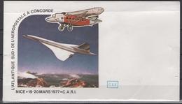 France - Enveloppe CONCORDE - Documents De La Poste
