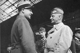 Militaria WW2 - Le Général Sikorsky Avec Un Officier Français - 1939-45
