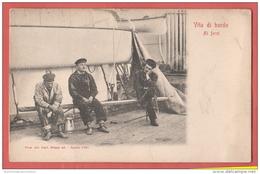 Marina Marine Marinai Navy Vita Di Bordo - Guerra