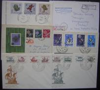 Pologne (Polska) Lot De 6 Lettres Et FDC Voir Photo
