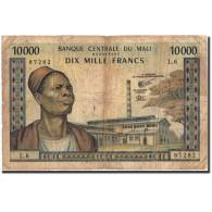 Mali, 10,000 Francs, Undated 1970-84, KM:15f, B - Mali