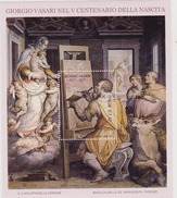 ITALIA - 2011 : 5° Centenario Della Nascita Di Giorgio Vasari Dipinti Painting  Sheet MNH