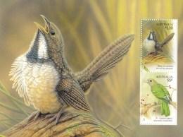Australia 2009 Songbirds $1.10 Noisy Scrub-bird Minisheet MNH