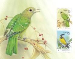 Australia 2009 Songbirds 55c Catbird Minisheet MNH
