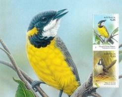 Australia 2009 Songbirds $1.65 Mangrove Golden Whistler Minisheet MNH