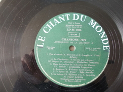 Chansons 1925  Avec Duvaleix, Arletty, Amado, Deniaud Et Levasseur - Compilations