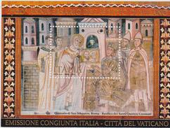 ITALIA  2013 - 1700 Anni Dell´editto Di Milano Emissione Congiunta Vaticano  Sheet MNH