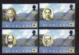 Saint Helena Island 2002 The 500th Anniversary Of The Discovery Of St. Helena - Local Celebrities.MNH - St. Helena