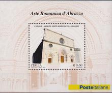 ITALIA  2010 - Arte Romanica D'Abruzzo  Sheet MNH