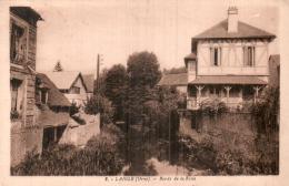 61 LAIGLE BORDS DE LA RISLE CIRCULEE 1937 - L'Aigle