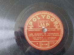 78T - Les Cloches De Corneville Par André Gaudin Et La Vie De Bohême Par Suzanne Dubost - 78 T - Disques Pour Gramophone