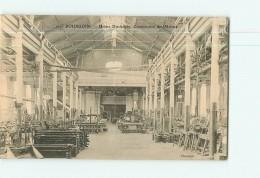 BOURGOIN -  USINE Ch. DIEDERICHS - Construction Des Métiers - Beau Plan Des Machines  -  2 Scans - Bourgoin