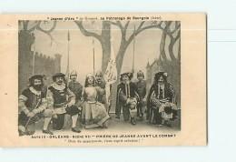 BOURGOIN -  JEANNE D' ARC De Gounod Au Patronage De Bourgoin -  Prière Avant Le Combat - TBE  -  2 Scans - Bourgoin