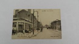 Cp  Reins Rue De  Neufchatel ( Café De L Armée  Tabac ) - Reims
