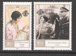 ZES Seychelles 1990 Queen Mother´s Birthday MNH CV £5.75