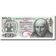 Mexique, 10 Pesos, 1975, KM:63h, 1975-05-15, SPL - México