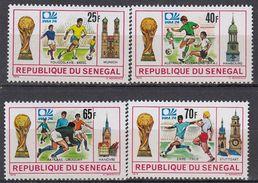 Senegal - SOCCER / FOOTBALL 1974 MNH - Senegal (1960-...)