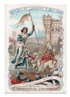 (Chromos) Chocolaterie D'Aiguebelle, Vie De Jeanne D'Arc 11, Prise De La Premièere Bastille - Aiguebelle