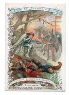 (Chromos) Chocolaterie D'Aiguebelle, Vie De Jeanne D'Arc 12, Jeanne Pleure Les Morts - Aiguebelle