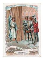 (Chromos) Chocolaterie D'Aiguebelle, Vie De Jeanne D'Arc 13, Jeanne Au Conseil Des Chefs - Aiguebelle