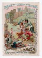 (Chromos) Chocolaterie D'Aiguebelle, Vie De Jeanne D'Arc 15, Jeanne Secourt Les Blessés - Aiguebelle
