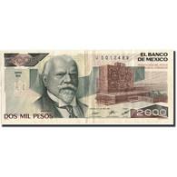 Mexique, 2000 Pesos, 1987, KM:86b, 1987-02-24, TTB - Mexico