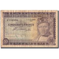 Mali, 50 Francs, 1960, KM:6a, 1960-09-22, TB+ - Mali