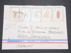 VANUATU - Enveloppe De Port Villa Pour La France En 1982 , Affranchissement Plaisant - L 7905 - Vanuatu (1980-...)