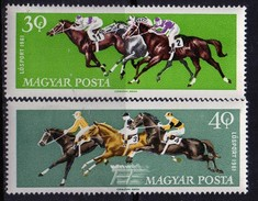 PIA - UNGHERIA - 1961 -  Sport Ippici  - (Yv 1459-65)