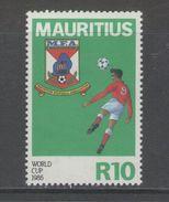 Mauritius - SOCCER / FOOTBALL 1986 MNH - Mauritius (1968-...)