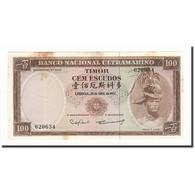 Timor, 100 Escudos, 1963, KM:28a, 1963-04-25, SUP - Timor