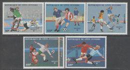 Ivory Coast - SOCCER / FOOTBALL 1986 MNH - Costa De Marfil (1960-...)