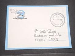 FRANCE - Enveloppe En FM D' Un Soldat Français En Croatie Sous L 'égide De L 'ONU En 1992 Pour La France - L 7912 - Marcophilie (Lettres)