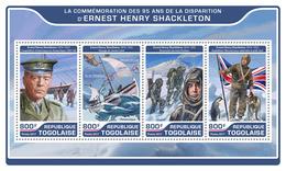 TOGO 2017 - E.H. Shackleton, Dog. Official Issue.