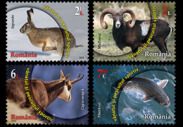 Romania 2013 Set - Sport Fishing And Hunting - 1948-.... Republics