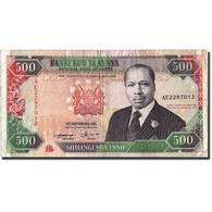 Kenya, 500 Shillings, 1993, KM:30f, 1993-09-14, TB+ - Kenya