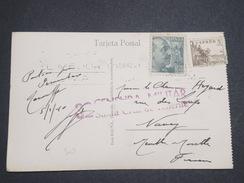 ESPAGNE - Censure Militaire De Santa Cruz De Tenerife Sur Carte Postale Pour La France En 1940 - L 7918 - Republikanische Zensur