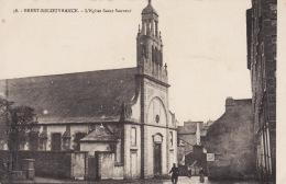 29 BREST, Recouvrance, Eglise Saint- Sauveur , Petite Animation,2 Scans - Brest