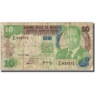 Kenya, 10 Shillings, 1988, KM:20g, 1988-07-01, B - Kenya