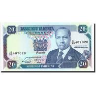 Kenya, 20 Shillings, 1992, KM:25e, 1992-01-02, NEUF - Kenya