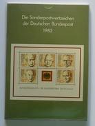 Sonderpostwertzeichen Der Deutschen Bundespost 1982 KOMPLETT Siehe Beschreibung - [7] Federal Republic