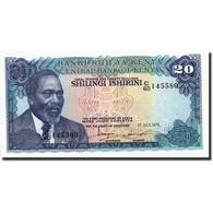 Kenya, 20 Shillings, 1978, KM:17, 1978-07-01, NEUF - Kenya