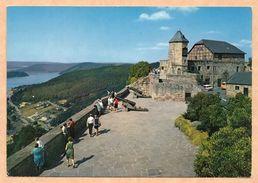 Schloss Waldeck Am Edersee - Burgterrasse Und Edersee - Ungelaufen 1972 - Edersee (Waldeck)