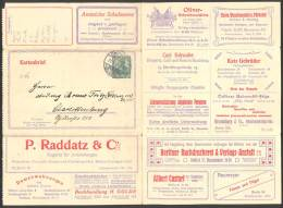 ALLEMAGNE EMPIRE, Entier Postal, Carte Lettre  Type: GERM. 5 PF Série: 17 BERLIN/chaussure/porcelaine/cristal/mac. Ecrir - Deutschland