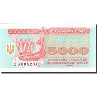 Ukraine, 5000 Karbovantsiv, 1993, 1995, KM:93b, NEUF - Ukraine